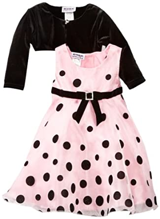 Blueberi Boulevard Baby Girls Infant Organza Dress, Pink, 18 Months
