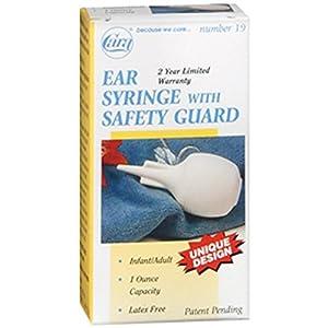 Cara Ear Syringe With Safety Guard 1 Fl Oz