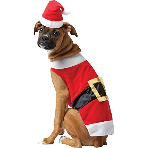 Santa Suit Dog Costume