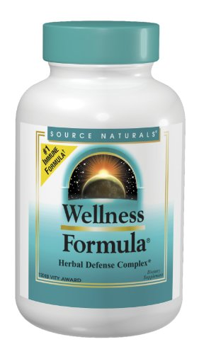 Source Naturals Wellness Formula Capsules, 240 Count
