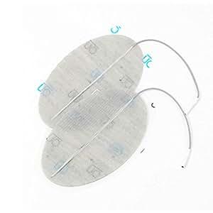 Electrodes Dura-stick Premium à fil 1 sortie - 80 x 130 mm - Sachet de 2 électrodes