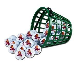 Arizona State Sun Devils Golf Ball Bucket (36 Balls) by McArthur