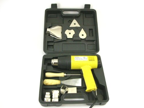 ELECTRIC HEAT GUN - 2 TEMP SETTINGS Heavy Duty KIT NEW!