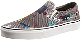 Vans Mens Classic Slip on Canvas Boat Shoes B00U12ZQLA
