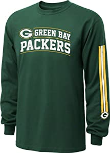 Green Bay Packers Youth Hunter Green NFL Without Doubt Long Sleeve T-Shirt
