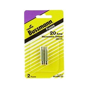 Bussmann Bp Abc 20 20 Amp Fast Acting Ceramic Tube Elect