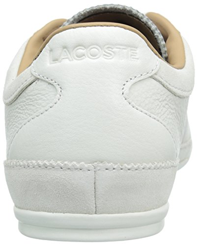 Lacoste Men's Misano 36 Srm Fashion Sneaker, White, 8.5 M US
