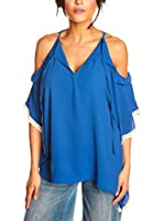 JUST SUCCES Blusa Camille (Azul Royal)