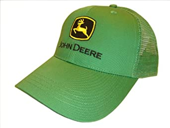 John Deere Trucker Hat Green