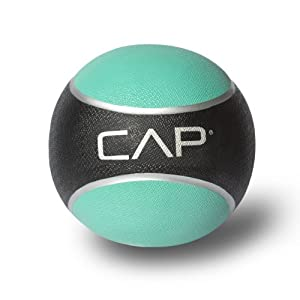 Cap Barbell Medicine Ball (Blue, 2lb )