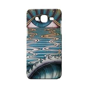 BLUEDIO Designer 3D Printed Back case cover for Samsung Galaxy J7 - G0415