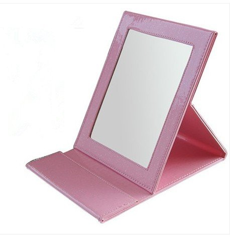 Color Crystal Desktop Portable Portable Makeup Mirror front-959239