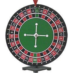 Tabletop Upright Roulette Game Wheel Spinner