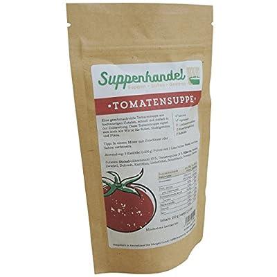 Tomatendinkelsuppe - 250g Instant Pulver, rein pflanzlich ohne Zusatzstoffe und Glutamate, Tomatensuppe von Suppenhandel bei Gewürze Shop