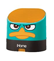 eKids Phineas and Ferb Portable Rechargeable Speaker for MP3 Players/iPhone/iPad, by iHome - DF-M63