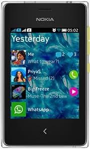 Nokia Asha 502 (Dual SIM, Yellow)