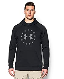 Under Armour Men\'s Freedom Hoodie, Black, X-Large