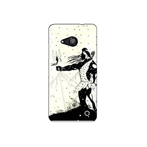Micromax lumia 550 nkt11_L (26) Mobile Case by Mott2 - Lord Shiva