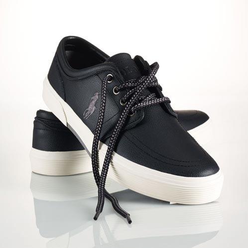 ポロラルフローレン POLO RALPH LAUREN 正規品 メンズ 靴 シューズ LEATHER FAXON SNEAKER US8.5 並行輸入品