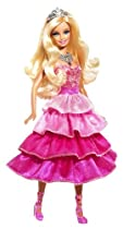 Barbie Sparkle Lights Pink Princess Doll
