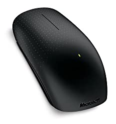 Microsoft Wireless Touch Mouse (Black)