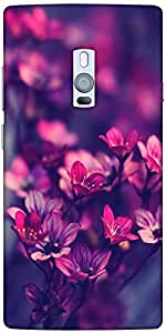 Snoogg Serene Flowers Solid Snap On - Back Cover All Around Protection For On...