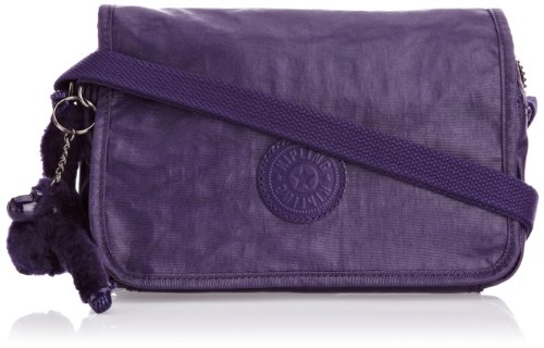 Kipling Womens Delphin N Shoulder Bag K12389B25 Lacquer Dr Blue