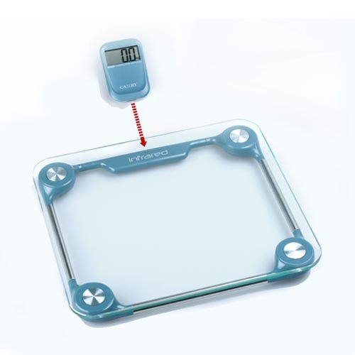 """Cheap [Best Holiday Gift] Camry 330lb Precision Digital Bathroom Body Scale w/ Removable Display and """"Step-On"""" Technology (EB9111)"""