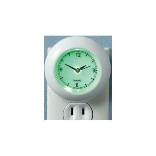 Clock Night Light, Plug In. Led, Safety, Security ...