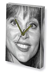 LEIGH TAYLOR-YOUNG - Canvas Clock (LARGE A3 - Signed by the Artist) #js001