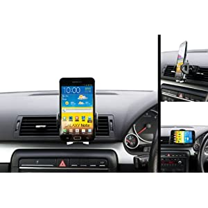 UltimateAddons Swivel Air Vent Car Kit Mount Holder for Samsung Galaxy Note N7000