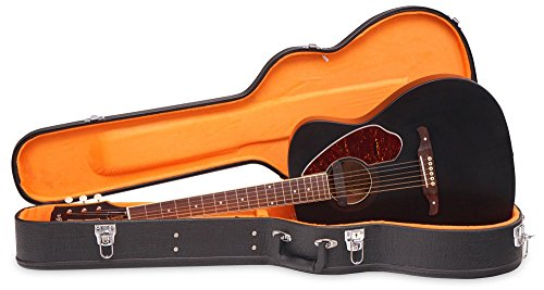 Fender Tim Armstrong Hellcat Deluxe Limited Black Acoustic Electric Guitar w/Case (Fender Electric Guitar Deluxe compare prices)
