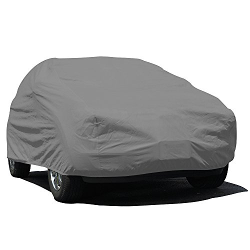 Budge Lite SUV Cover Fits Large SUVs up to 229 inches, UB-3 - (Polypropylene, Gray)
