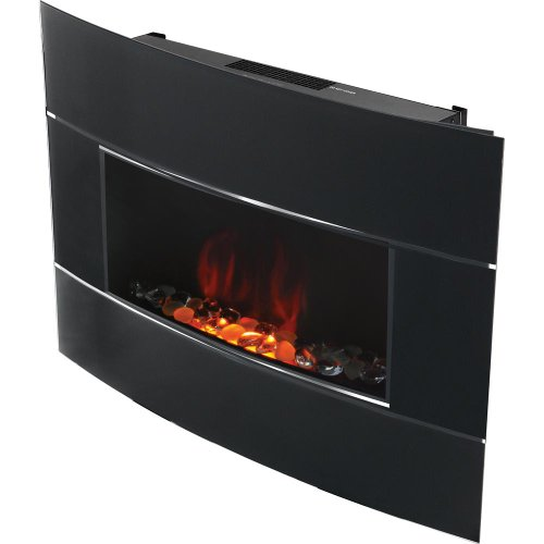 bionaire bef6500 electric fireplace heater wall mount