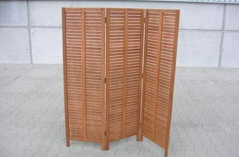 Paravent Raumteiler 150x170cm 3-teilig, Eukalyptus, FSC®-zertifiziert
