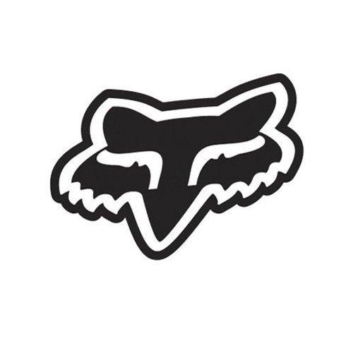 Amazon.com: Fox Racing Fox Logo Solid Face - Vinyl Decal Sticker 6