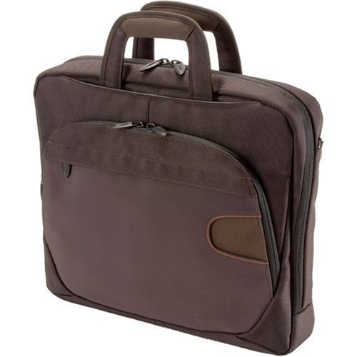 "Dicota Take.Off Smart - Sacoche pour ordinateur portable - 15.4"" - brun"