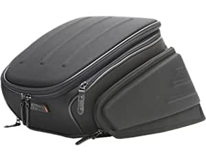 タナックス(TANAX)モトフィズ エアロシートバッグ2 /ブラック MFK-142 可変容量12.5-18.5ℓ