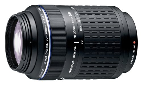 Olympus 70-300mm f/4-5.6 Zuiko ED Zoom Lens for Olympus Digital Cameras (Four Thirds System)