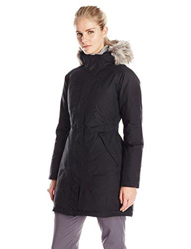 womens-the-north-face-arctic-parka-jacket-black-size-medium