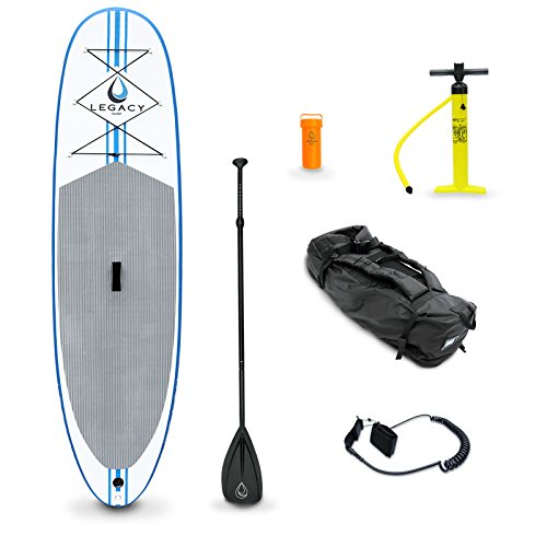 Legacy Inflatable Stand Up Paddle Board Isup & Accessories - 9'9