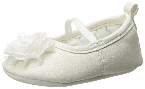 Carter's Baby-Girls Newborn Chiffon Flower Mary Jane, Multi, 9-12 Months