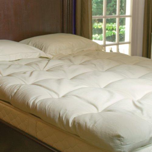 3 Inch Organic Wooly Mattress Pillow Top - California King Topper front-387260