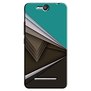 DIGITAL PATTERN 9 BACK COVER FOR MICROMAX CANVAS JUICE 3