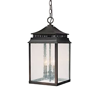 Capital lighting 9116ob sutter creek 3 light exterior for Front porch hanging light