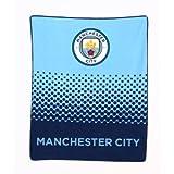 Manchester City FC Football Team Fleece Throw Blanket