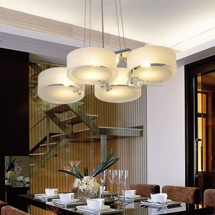 Ann lights contracted italian dining room acryl chandelier for Dining room lighting ideas uk