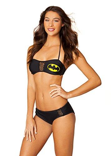 BatGirl Batman Mesh Bandeau Top - Women's / Girls Bikini