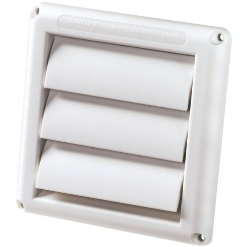 "Deflecto Hs4W/18 4"" Supurr-Vent(R) Replacement Vent Hood back-411214"