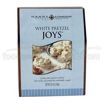 Harry London Joys White Pretzel, 5.5 Ounce -- 6 per case.